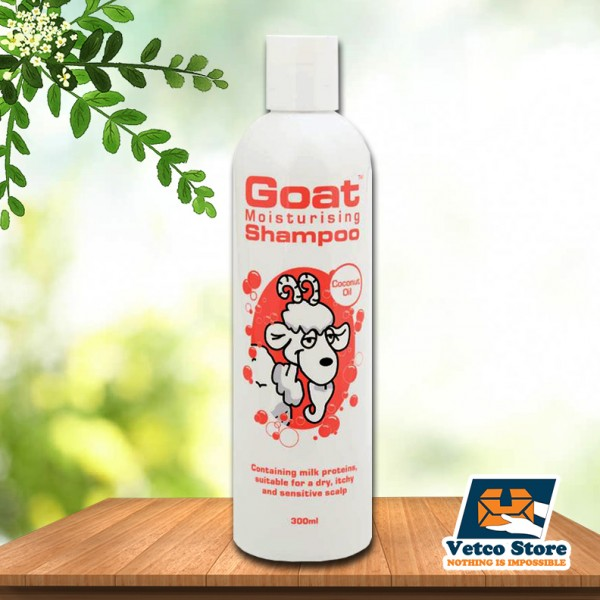 Dầu gội Goat Moisturizing Coconut Oil 300ml