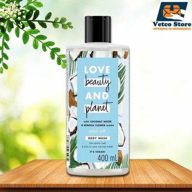 Sữa tắm Love Beauty and Planet Petal Soft 400ml