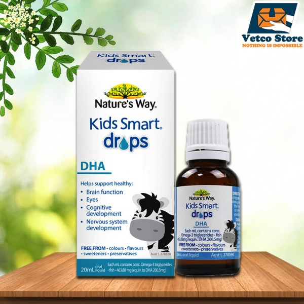 DHA Dạng Giọt Nature's Way Kids Smart Drops